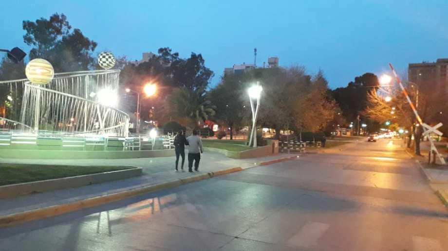 La ciudad de Neuquén por la mañana. Foto: Mauro Pérez.