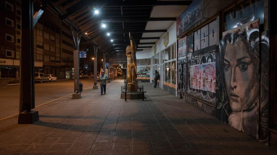 Bariloche. Alto acatamiento al paro general de la CGT. Foto: Marcelo Martínez