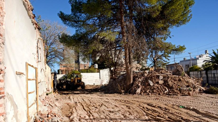 El 99% de los pedidos de demolición vienen acompañados de un proyecto de construcción.