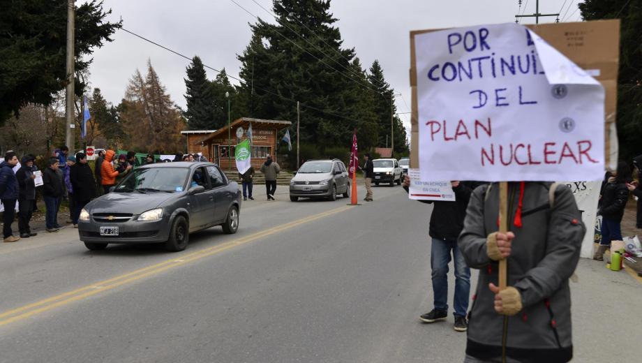 La protesta se llevó a cabo el martes pasado. Foto: archivo