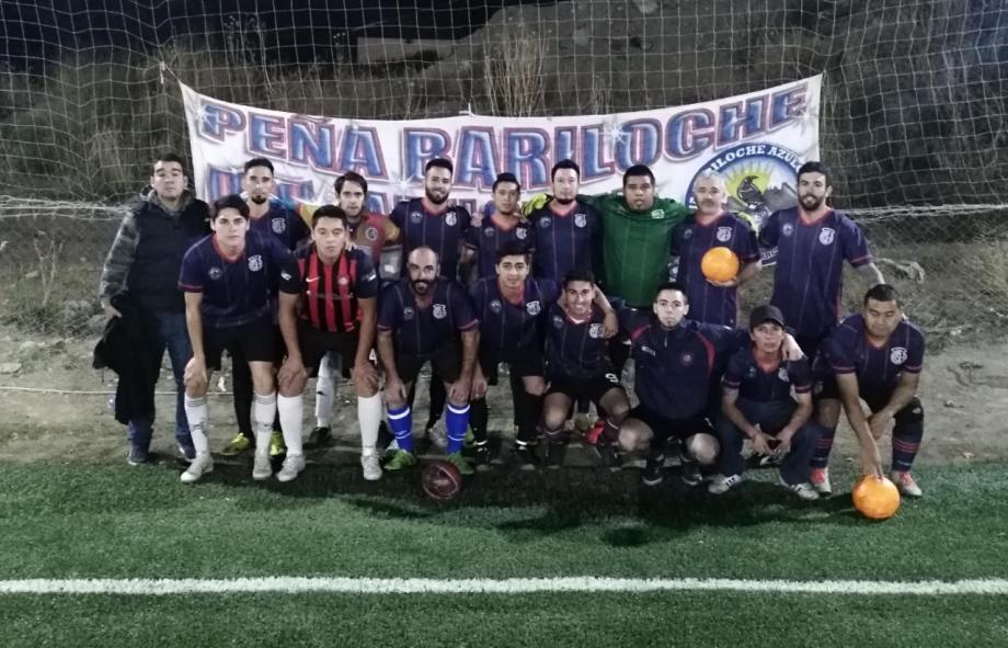 La Peña Bariloche Azulgrana va por su cuarta campaña solidaria. Foto: gentileza