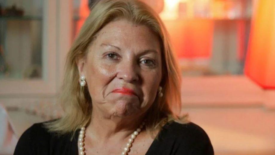 """Denuncian a Carrió por acusar al presidente Fernández de """"envenenar a la población""""."""