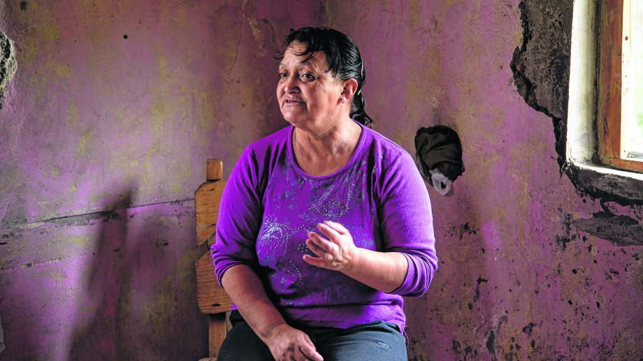 Graciela Salvo, madre de Rafael Nahuel. (Archivo)