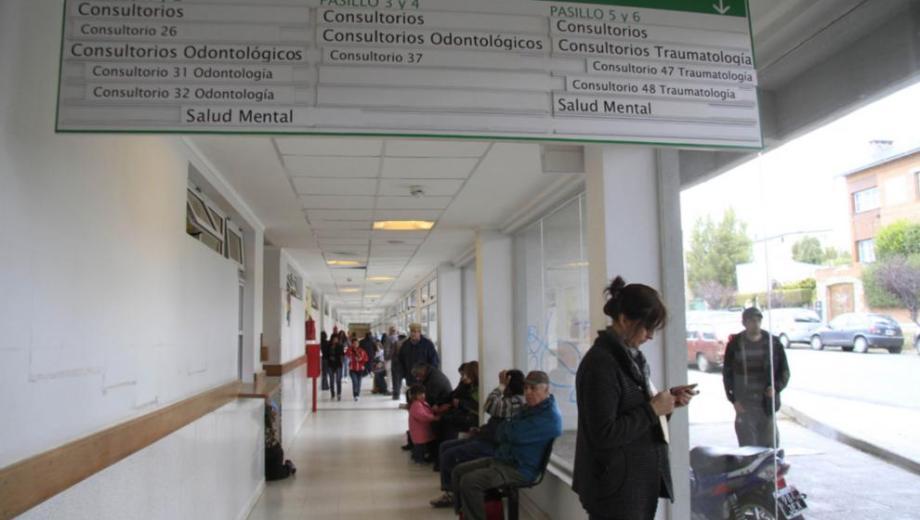 La Asociación de Adultos Mayores funciona en na oficina del Hospital Ramón Carrillo. Foto: archivo