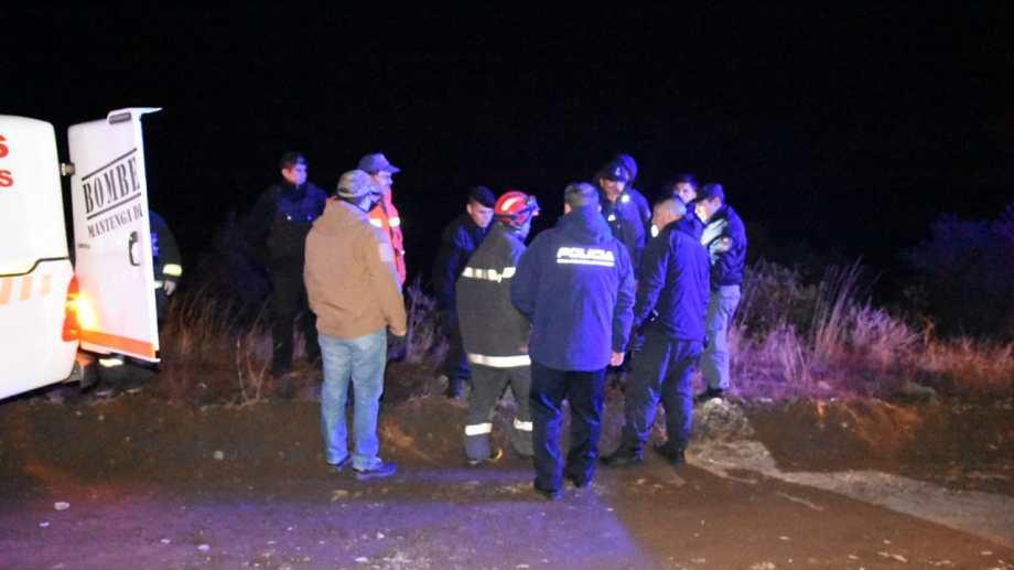 El cuerpo de Andino Aminahuel fue hallado ayer por la noche. (Foto: Gentileza.-)