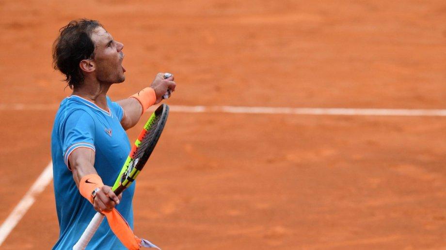 Rafa ganó su 9° Masters de Roma y ahora irá por su 12° Roland Garros.