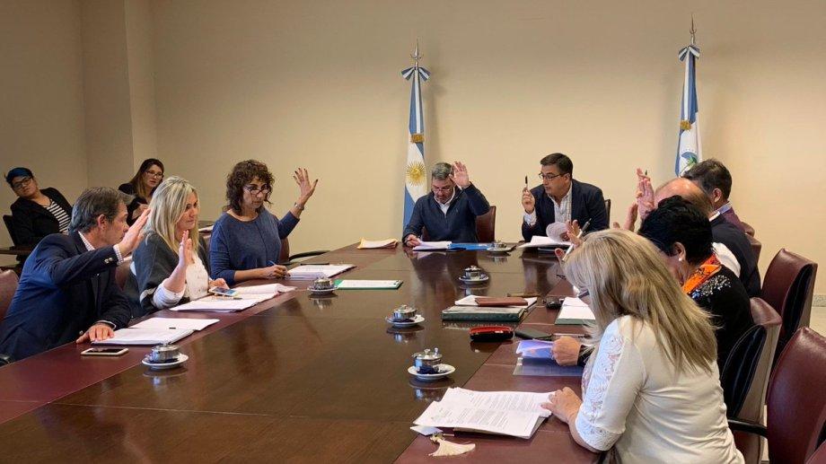Las comisiones dieron el aval para que el proyecto del endeudamiento se trate en el recinto. Foto Gentileza