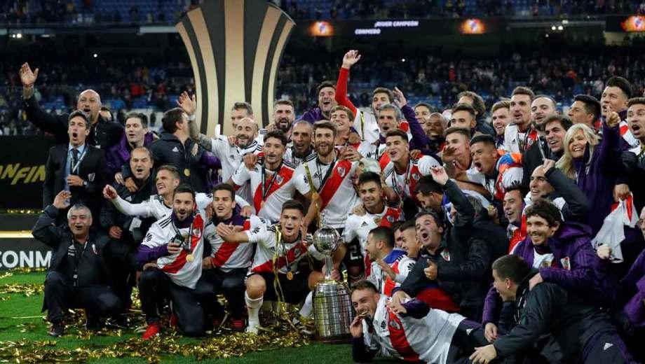River disputará la Recopa por la obtención de la Libertadores 2018.