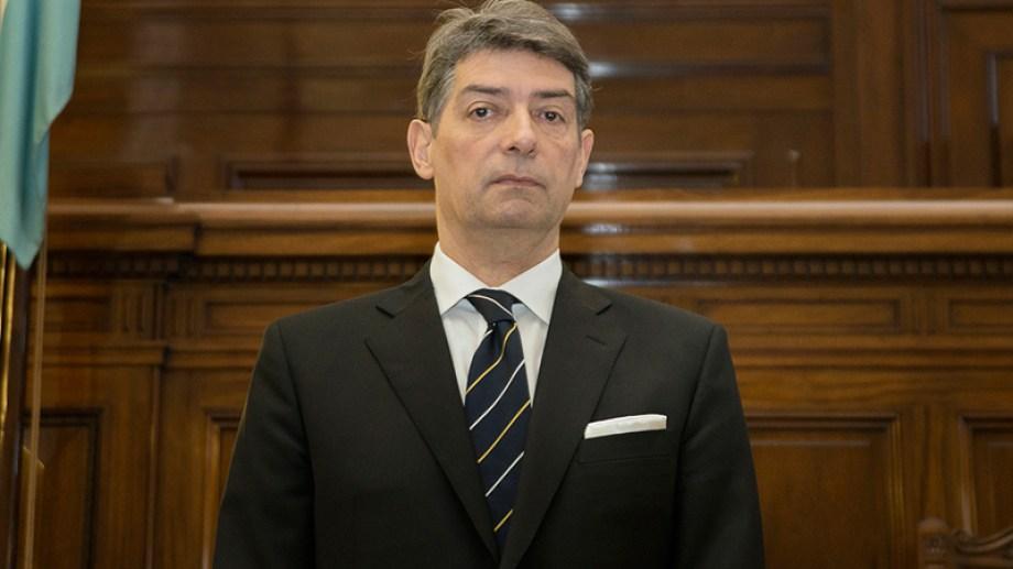 Horacio Rosatti es el nuevo presidente de la Corte Suprema de Justicia de la Nación. Foto archivo.