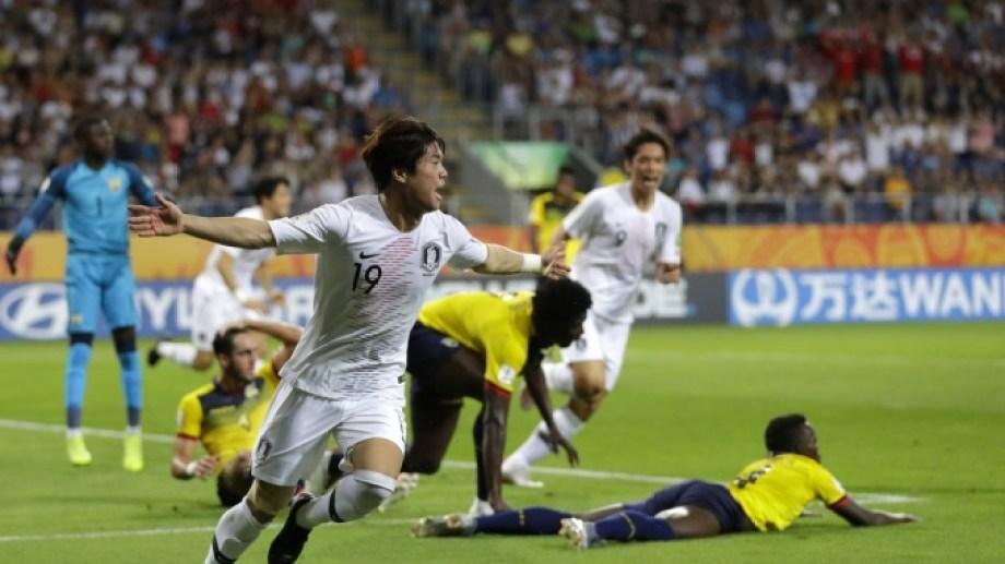 Corea del Sur terminó con la ilusión ecuatoriana.