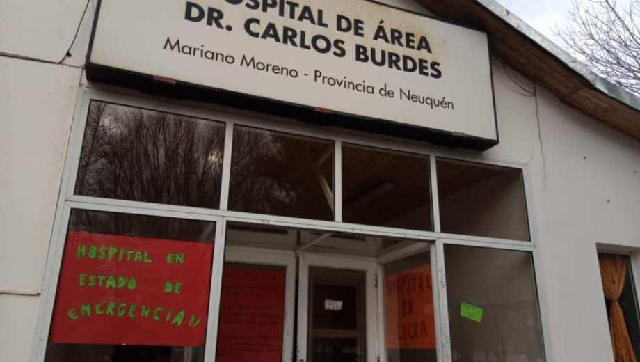 El hospital de Mariano Moreno. Foto: Facebook @atesalud.marianomoreno.9
