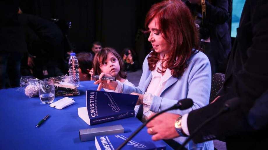 La expresidenta presentó libro en Rosario la semana pasada. Foto: gentileza