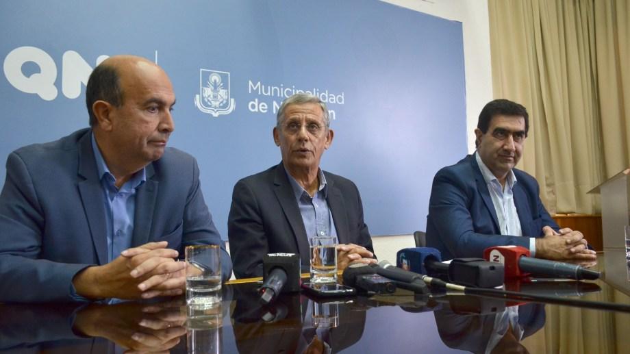 """Marcelo Bermúdez y José Luis Artaza por su rol durante el Gobierno de Horacio """"Pechi"""" Quiroga. (Archivo Yamil REgules).-"""