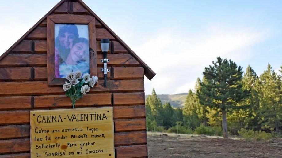 El 22 de febrero de 2018 Lorenzo Muñoz asesinó a Carina y Valentina Apablaza en Las Ovejas. Foto Florencia Salto