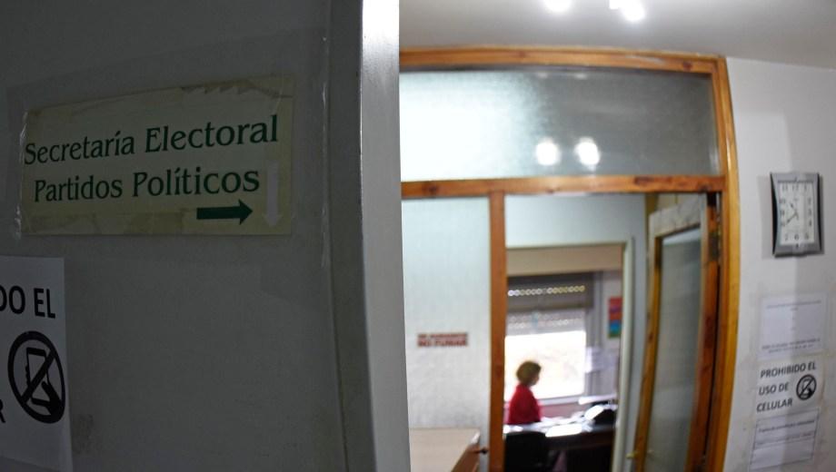 Con la inscripción de alianzas, se pone primera para la elección de agosto. Foto: Florencia Salto