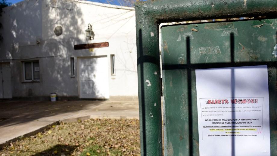 La comisión vecinal del barrio Río Grande está a la espera de sus elecciones, luego de una polémica con la presentación de listas. (Florencia Salto).-