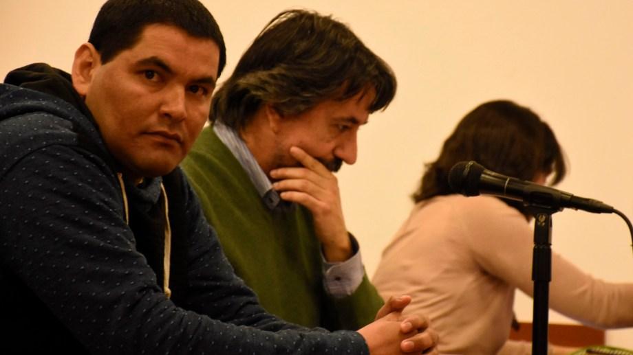 Hace un mes, Diego Tolaba fue declarado responsable del femicidio de su pareja, Delia Aguado. (Foto: Archivo Florencia Salto.-)