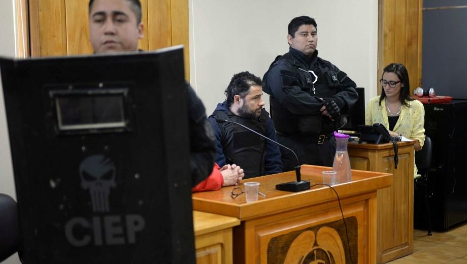 Mariano Cordi escuchó el fallo que lo condenó a prisión perpetua. (Foto: Alfredo Leiva)