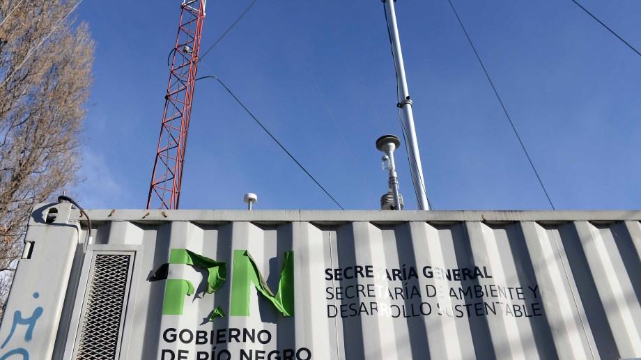 El equipo está instalado en la calle Vicealmirante O'Connor, en pleno centro de la ciudad. (Foto: Alfredo Leiva)