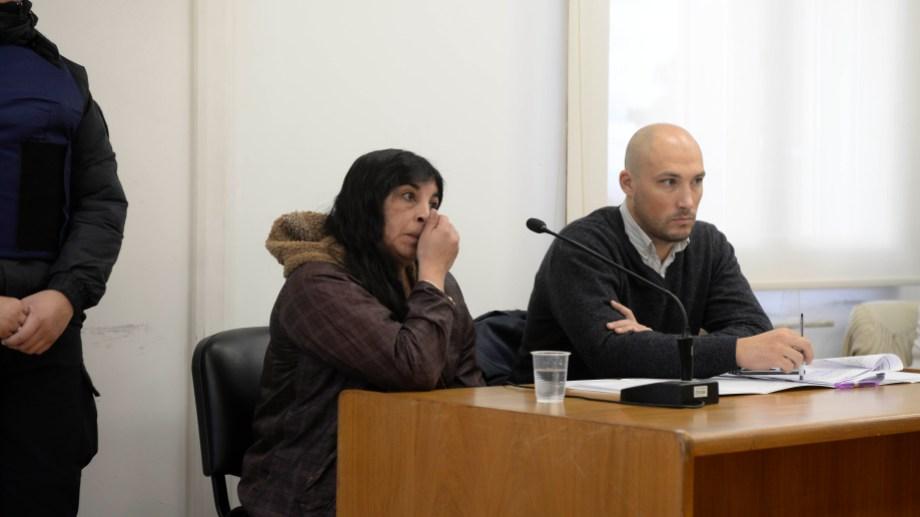 Marta Valle es la principal sospechosa para la fiscalía por el homicidio de su pareja. (Foto: Alfredo Leiva)