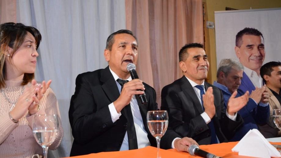 El candidato a intendente presentó sus concejales.  Foto: Andrea Vázquez