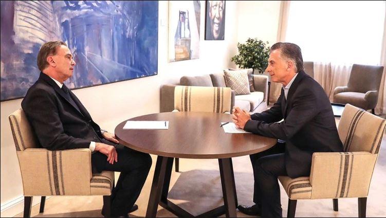 La participación de Mauricio Macri y Miguel Ángel Pichetto estaba programada para hoy en el precoloquio IDEA. (Gentileza).-