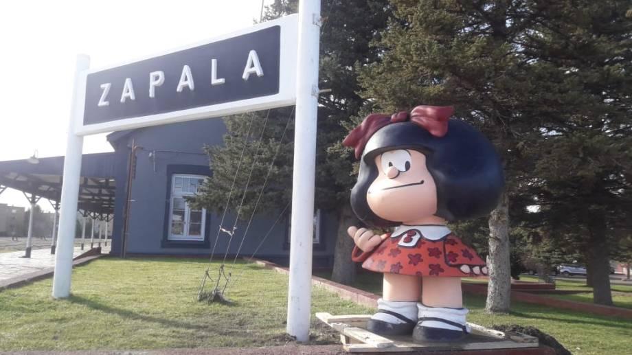 Zapala fue la localidad que registró más contagios en el primer parte del día. (Archivo Gentileza).-