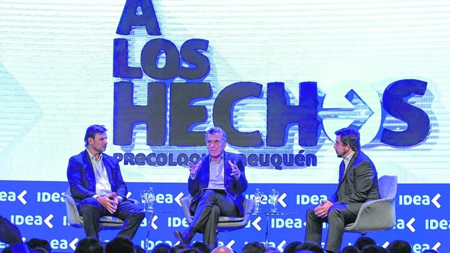 El presidente cerró el Precoloquio. Macri reafirmó la necesidad de generar políticas previsibles para el sector.