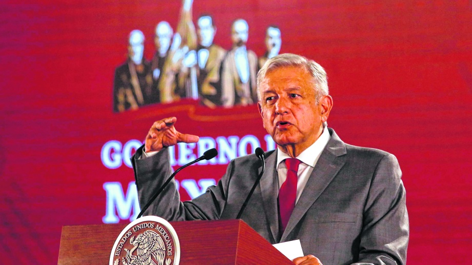El presidente de México Andrés Manuel López Obrador (AMLO).