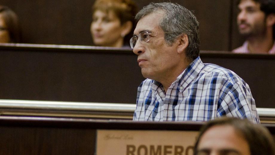 Romero dejará su banca el 10 de diciembre de este año. Foto: archivo.