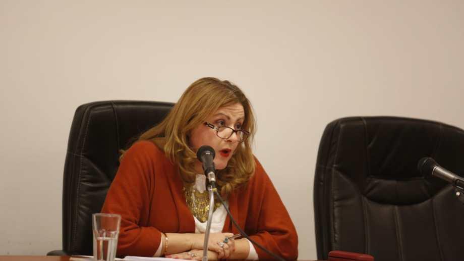 Por pedido de la defensa, la jueza Carina Álvarez no permitió que se tomen fotografías durante la audiencia. (Foto: Archivo.-)