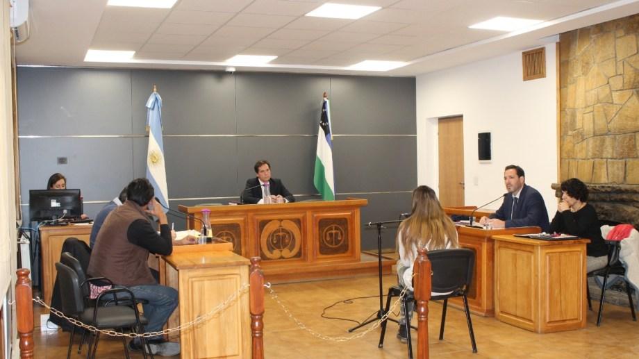 La audiencia para fijar la pena se hizo este miércoles al mediodía y la presidió el juez Bernardo Campana. (Gentileza)