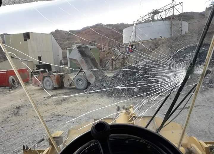 Los trabajadores jerárquicos de la mina de Andacollo denunciaron malas condiciones laborales. (Gentileza).-