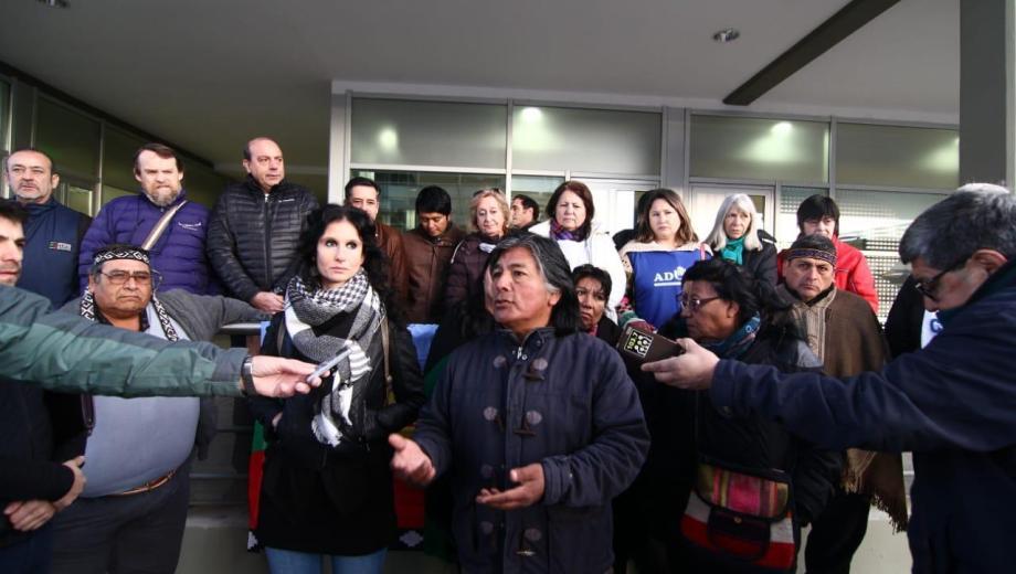 La comunidad Campo Maripe impugnará la anulación de la absolución en la causa en la que fueron acusados de usurpar tierras en Añelo. (Gentileza).-