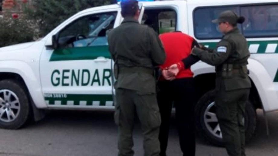 El hombre fue detenido por Gendarmería en febrero. (Foto: Gentileza.-)