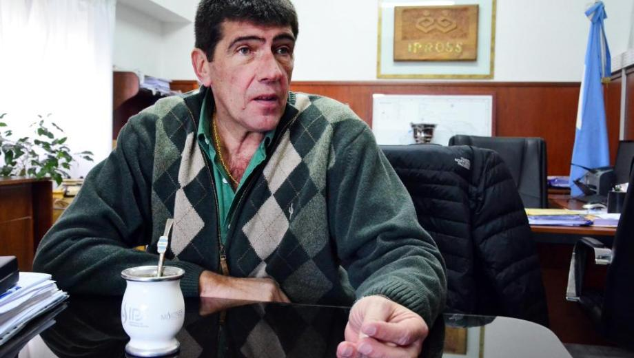 viedma - 15/07/15 claudio ditela, proximo presidente del ipross foto marcelo ochoa