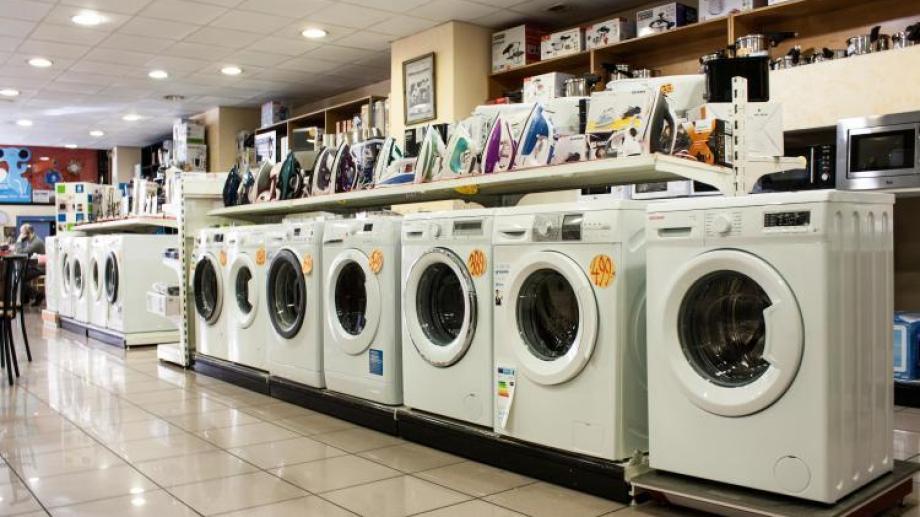El gobierno nacional lanzó hoy una línea de créditos para comprar electrodomésticos de producción nacional.