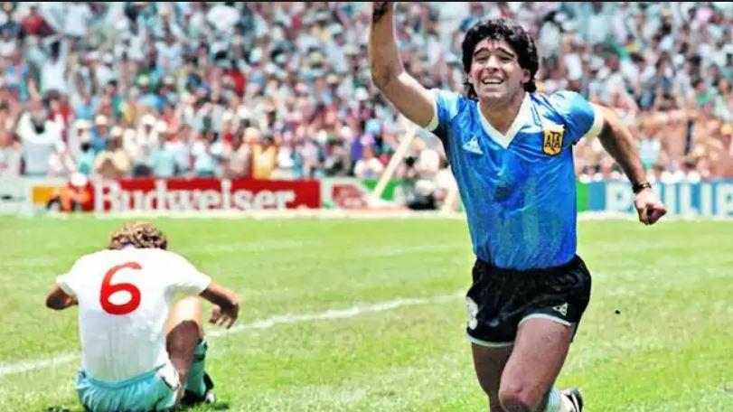 Video Maradona Recordo El Partido De La Mano De Dios A 33 Anos De