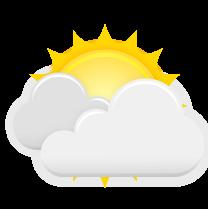 La imagen tiene un atributo ALT vacío; su nombre de archivo es parcialmente-nublado.png