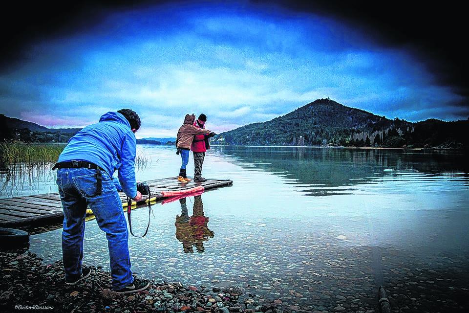 El lago Nahuel Huapi tendrá su película con un largometraje de docuficción