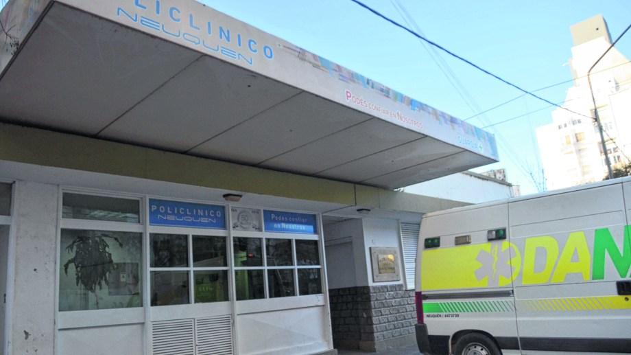 El Policlínico Neuquén. Foto: Matías Subat.