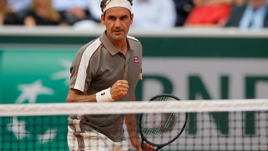Roger quiere meterse entre los cuatro mejores del certamen. (foto: AP)