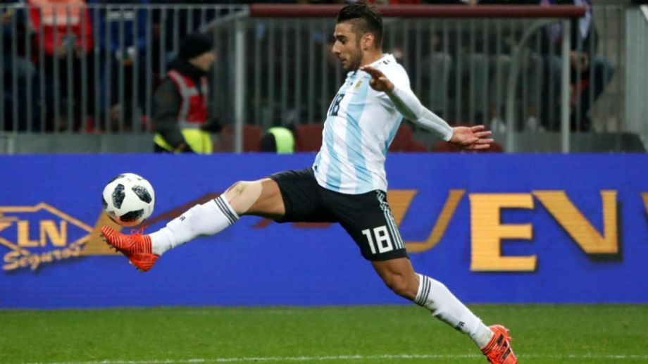 """El """"Toto"""" fue titular en dos partidos del Mundial de Rusia 2018."""