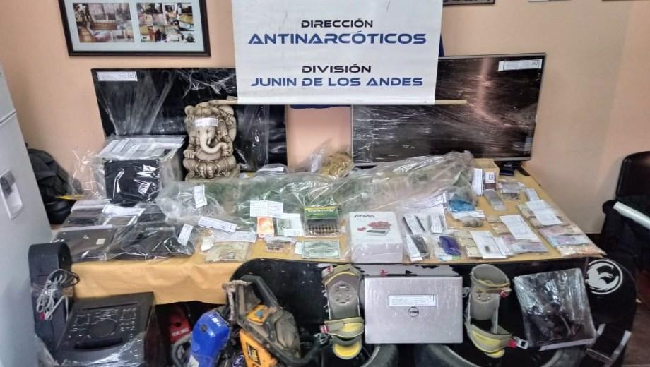 Encontraron medio kilo de cocaína en una estatua de Buda en San Martín