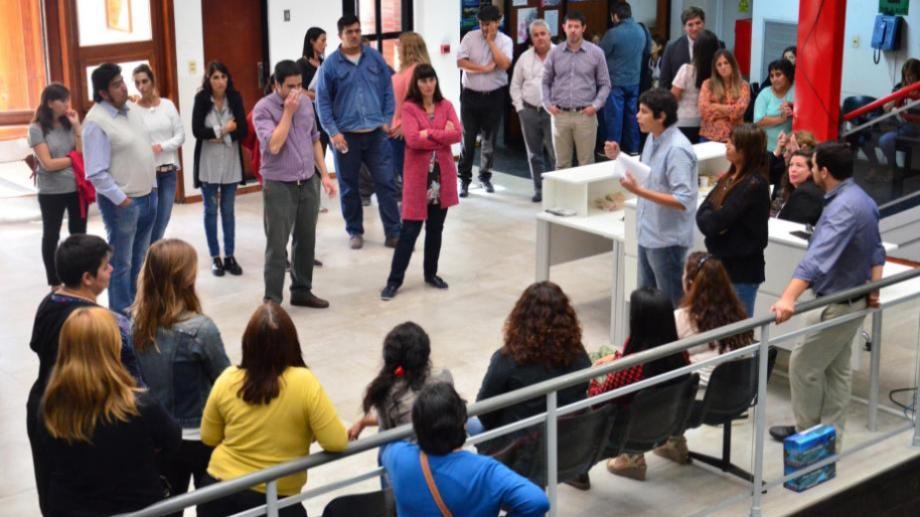 Las diferentes asambleas rechazaron la propuesta del gobierno. Foto: Marcelo Ochoa.