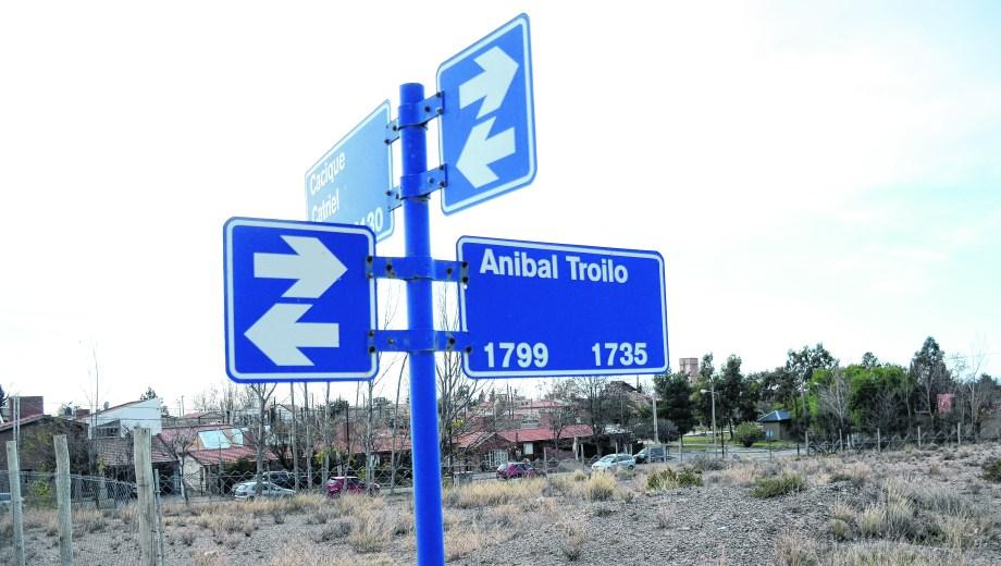 Los terrenos están cercados en el barrio Patagonia, en el norte de la ciudad. (Mauro Pérez)