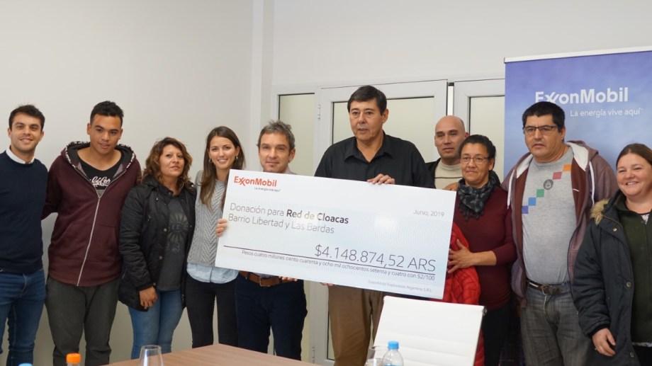 La donación se realizó en el marco de las acciones de responsabilidad social empresaria de la firma.