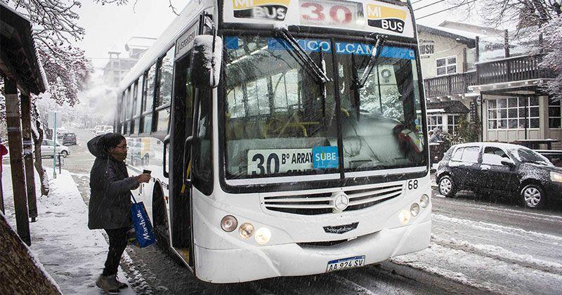 Desde la UTA Bariloche informaron que los 280 trabajadores de la empresa Mi Bus se sumarán al paro. (Archivo)