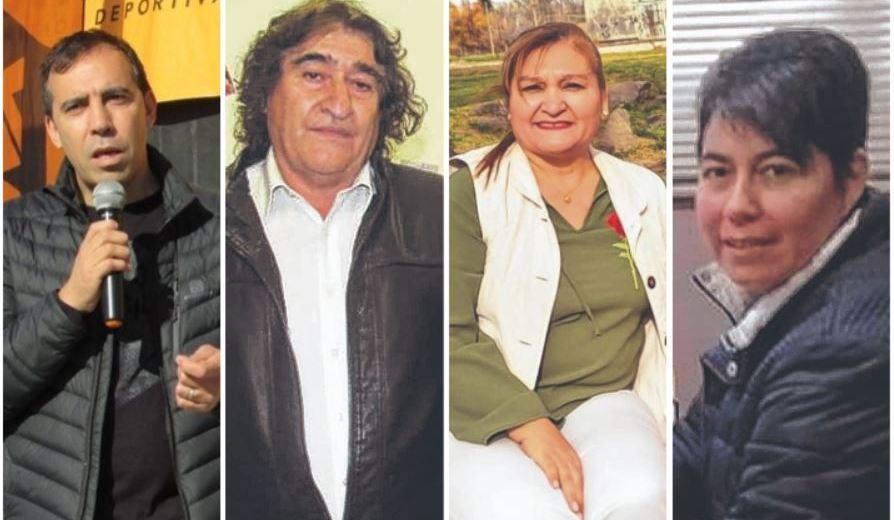 Foto: De izquierda a derecha, Martínez, Monsalve, Mendoza y Penilla.