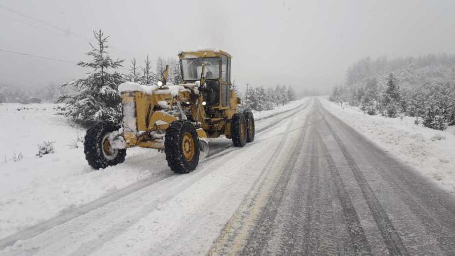 Habilitan la circulación en la ruta 40 entre Bariloche y El Bolsón. Foto: gentileza